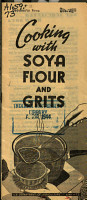 Cooking with Soya Flour and Grits PDF