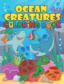 Ocean Creatures Coloring Book