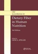 CRC Handbook of Dietary Fiber in Human Nutrition