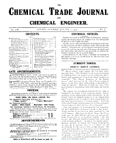 The Chemical Trade Journal and Chemical Engineer PDF