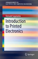 Introduction to Printed Electronics PDF