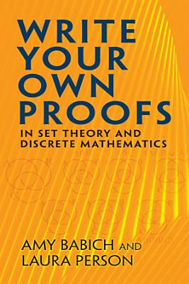 Write Your Own Proofs PDF