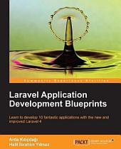 Laravel Application Development Blueprints
