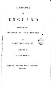 A History of England from the Fist Invasion by the Romans, 3