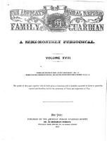 Advocate of Moral Reform and Family Guardian PDF