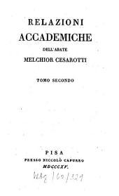 Relazioni accademiche: Volume 2