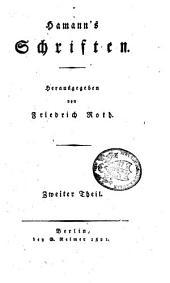 Schriften: Band 2