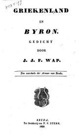 Griekenland en Byron: gedicht