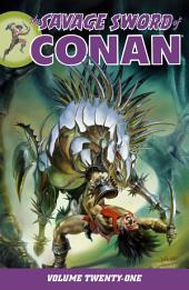 Savage Sword of Conan Volume 21