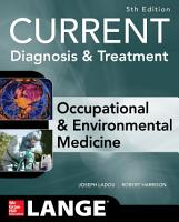 CURRENT Occupational and Environmental Medicine 5 E PDF