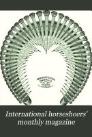 The International Horseshoers  Monthly Magazine PDF