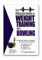 The Ultimate Guide to Weight Training for Bowling PDF