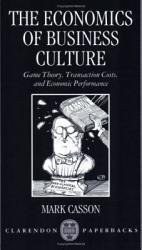 The Economics Of Business Culture Book PDF