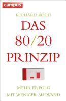 Das 80 20 Prinzip PDF