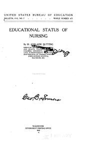 Educational status of nursing c. 2
