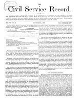 The Civil Service Record PDF