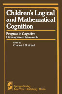 Children's Logical and Mathematical Cognition