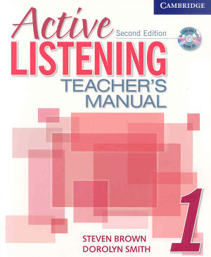 Active Listening 1 Teacher s Manual with Audio CD PDF