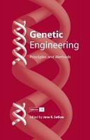 Genetic Engineering  Principles and Methods 28 PDF