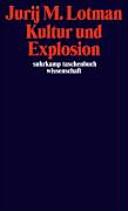 Kultur und Explosion PDF