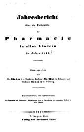 Jahresbericht über die Fortschritte in der Pharmacie in allen Ländern: 1843 (1844)