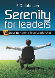 Serenity For Leaders Book PDF
