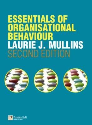 Essentials of Organisational Behaviour PDF