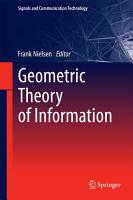 Geometric Theory of Information PDF