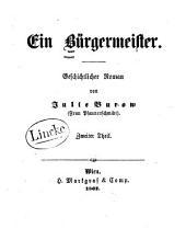 Ein Bürgermeister: geschichtlicher Roman, Band 2