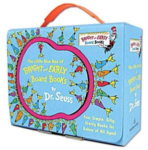 The Little Blue Box of Bright and Early Board Books by Dr  Seuss