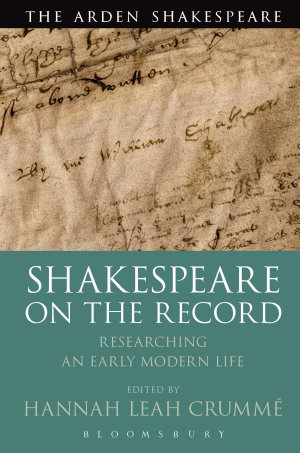 Shakespeare on the Record