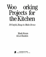 Woodworking Projects for the Kitchen PDF
