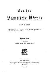 Goethes sämtliche werke: Faust