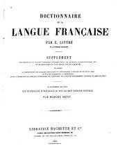 Dictionnaire de la langue française : supplément ...: Volume5