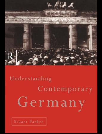 Understanding Contemporary Germany PDF