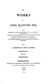 The works of John Playfair ...: with a memoir of the author ...
