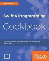 Swift 4 Programming Cookbook PDF