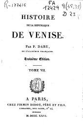Histoire de la République de Venise: Volume7