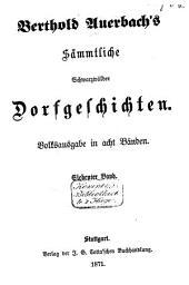 Auerbach's Sämmtliche Schwarzwälder Dorfgeschichten: Band 4