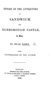 History of the Antiquities of Sandwich and Richborough Castle in Kent PDF