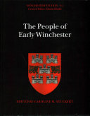 The People of Early Winchester