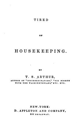 Tired of Housekeeping PDF