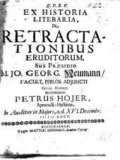 Resp. Dissertatio moralis de Φιλοπονιᾳ eruditorum. Præs. D. F. Jano