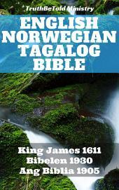 English Norwegian Tagalog Bible: King James 1611 - Bibelen 1930 - Ang Biblia 1905