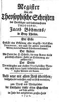 Register   ber alle Theosophische Schriften PDF