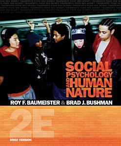 Social Psychology and Human Nature  Brief Version