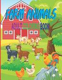 Farm Animals Adult Coloring Book