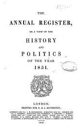 Annual Register: Volume 93