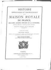 Histoire généalogique et chronologique de la Maison de France