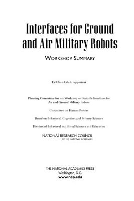 Interfaces for Ground and Air Military Robots PDF